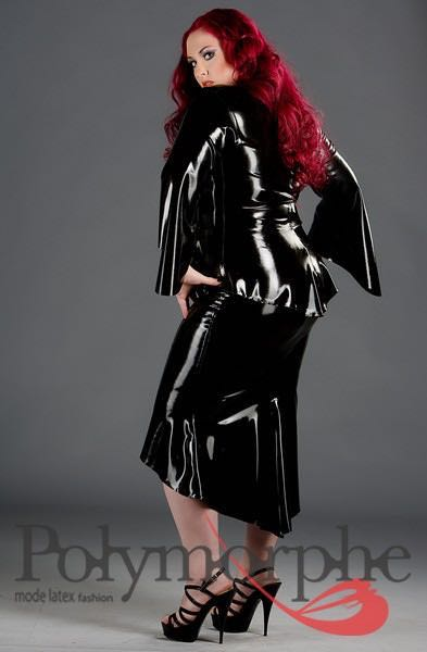 Clothing, Latex, Topsjackets, Women- Latex Countess Top -6228