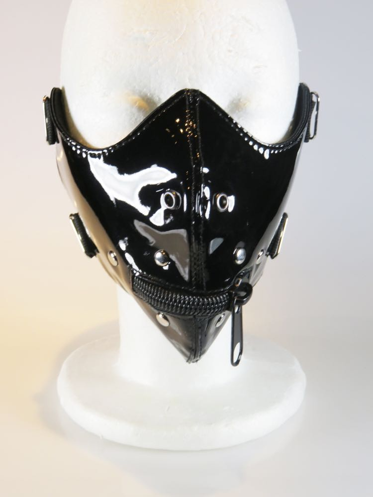 Bdsm Masks The Pvc Mouth Mask Purple Passion